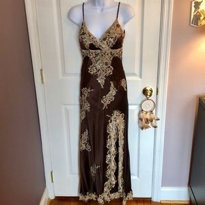 Beaded gown Size 2